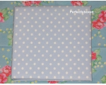 Duvet Covers Blue Polka dot spot Double Soft Br..