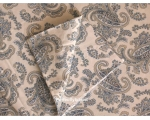 Duvet Cover Paisley Blue Double incl 2 oxford p..
