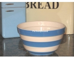 Retro Blue Stripe Pudding..