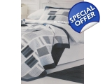Blue Stripe Single Duvet ..