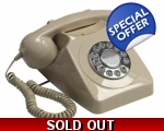 GPO 746 Ivory Telephone 1970s Cream Push Button ..
