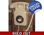 GPO 746 Wall Phone Cream Telephone 1970s Push B..