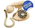 GPO Pearl 1922 Telephone Ivory Cream Push Button