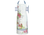 Greengate Aprons Garden Check Vintage Floral Pin..