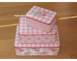 Greengate Set 3 Tins Stor..
