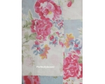 Duvet Set Double Floral Blue Pink Patchwork Vin..