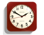 Newgate Mercury Wall Clock Red Retro