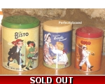 Bisto Storage Tins Set 3 ..