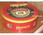 Cake Storage Tins Marmite Red Retro Robert Opie ..
