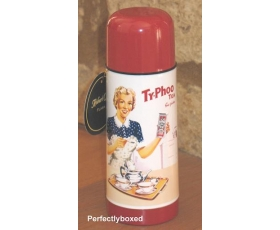 Typhoo Tea Thermos Bottle Vintage Retro Drinks Flask Opie