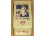 Robert Opie Jacobs Cream Cracker Storage Tin Retro