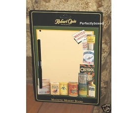 Robert Opie Magnetic Memo Board Pantry Foods Retro Kitchen