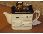 Rayburn Aga Style Teapot One Cup Cream ceramic ..