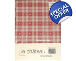 Red Hearts Tablecloth 140cm Square Oilcloth Shaker