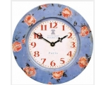 Floral Roses Wall Clock..
