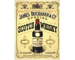 Scotch Whisky Metal Wall Sign Retro Vintage