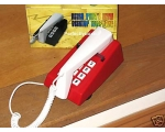 Steepletone Trim Phone Red White Push Button Re..