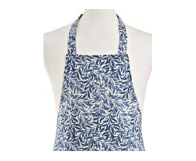 Apron William Morris Willow boughs Blue