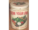 Wiscombe Grow Your Own Storage Tin Retro Kitchen..