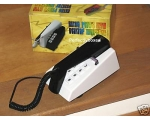 Steepletone Trim Phone Black White Push Button ..