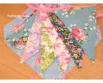 Floral Bunting English ..