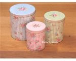 Greengate Set 3 Tins St..
