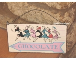Metal Sign Chocolate Th..