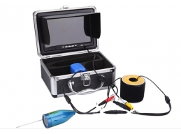 Underwater Fish Farming Video Camera  30m deepth LCD Infrared IP68 HD-1000TVL  Fish Finder