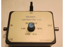 Adjustable  Low Pass Filter, 30 HZ TO 10 KHZ