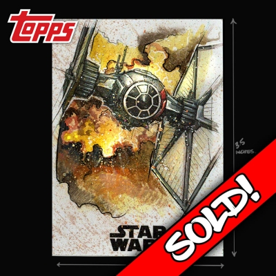 TOPPS STAR WARS - SPECIAL FORCES TIE