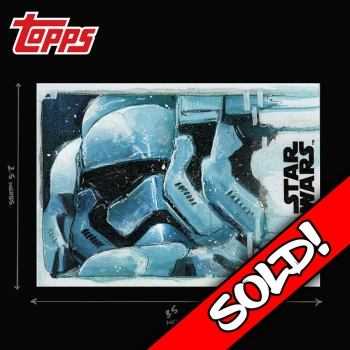 TOPPS STAR WARS - TROOP LAND..