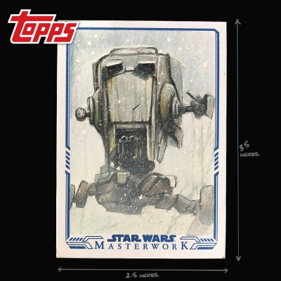 TOPPS STAR WARS - AT-ST SCOUT