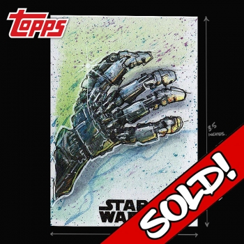 TOPPS STAR WARS - LUKE'S HAND