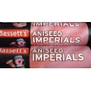 Bassett´s Original Aniseed Imperials roll packs x 4