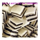 Taverners Halal Approved Black & White Liquorice an Mint Sweets 113g