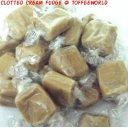 Bristows Clotted Cream Wrapped Fudge Retro Sweets