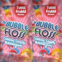 Bubblefloss Cotton Candy Tutti Frutti Flavour Bubblegum