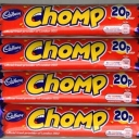 Cadbury Chomp Bars Retro Sweets