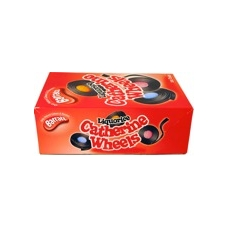 Barratts Novelty Liquorice Catherine Wheels Full Wholesale box