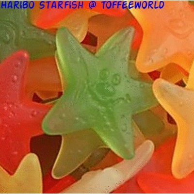 Haribo Starfish Gummy Jelly Vegetarian Sweets