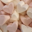 Sweet Spot Mallow Hearts Marshmallow Sweets