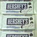 Hershey Cookies n Cream White Chocolate & Cookie Bits Bars