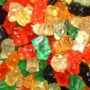 Lamy Lutti Jelly Bears Fruit Flavour Teddy Bear Gummy Jellies