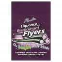 Maxilin Liquorice and Blackcurrant Flyers with Sherbet Crystals
