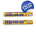 Fruit Mentos Roll Packs