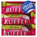 Jamasons Raspberry Ruffle Chocolate Bars