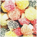 Taveners Fruit Coconut Mushrooms Soft Retro Halal Approved Sweets