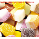 Taveners Dolly Mixture Sweets Halal Approved Sweets