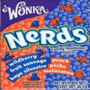 Wonka Nerds Wildberry and Peach Tiny Sweets
