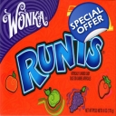 Wonka Runts Candy Candies..